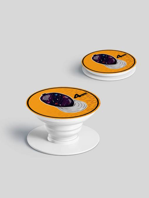 "Popsocket ""Cosmos"", orange"